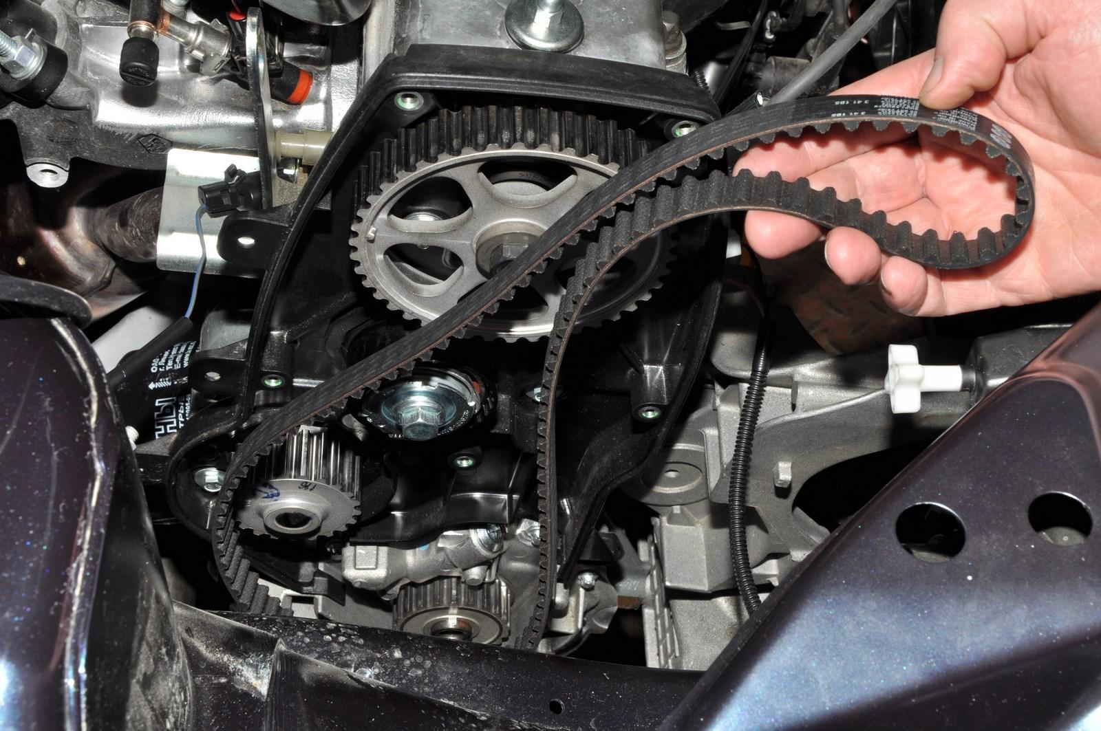 Определение износа ремня ГРМ без снятия его с мотора