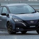 Полноприводная версия электромобиля Nissan Leaf