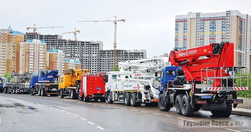 Производство грузовых автомобилей в России падает