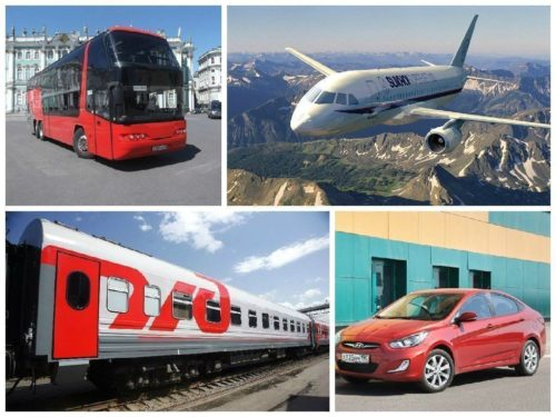 Самый безопасный вид транспорта - за автобус всего 2%