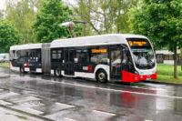 Сочлененные электробусы VDL