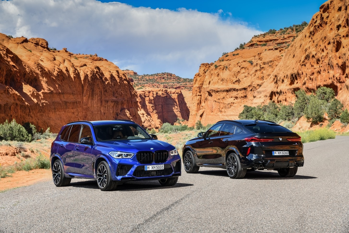 Спортивные версии кроссоверов BMW X6 и BMW X5