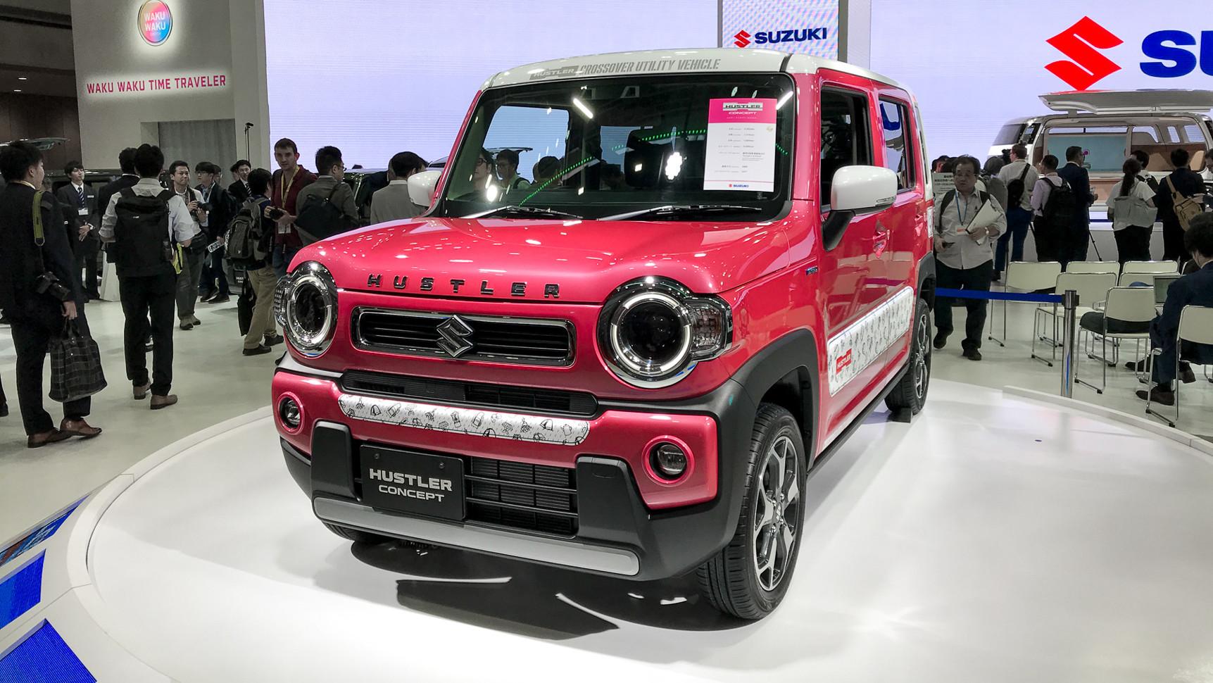 Suzuki Hustler нового поколения