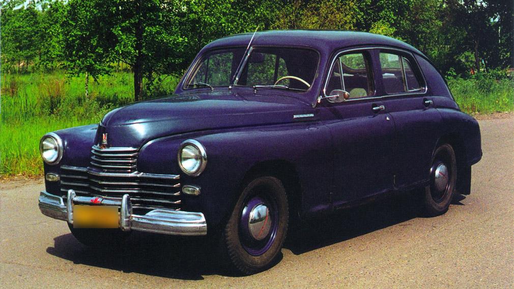Уходившие на экспорт Советские автомобили
