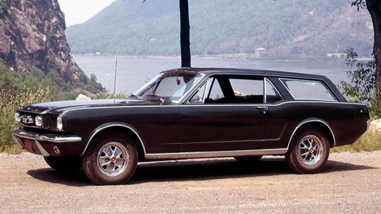Уникальный трехдверный универсал Ford Mustang