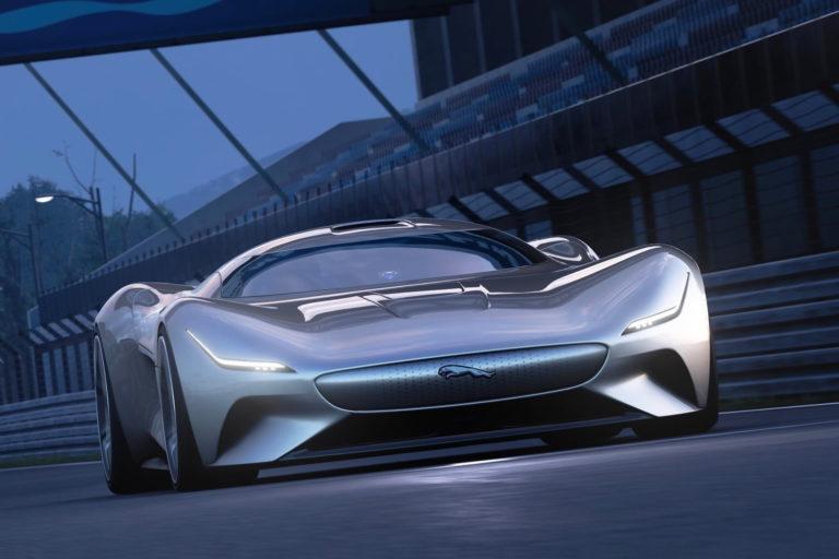 Виртуальный суперкар Jaguar