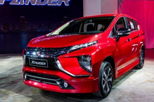 Внедорожная версия семиместного компактвэна Mitsubishi Xpander