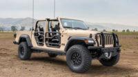 Военная версия пикапа Jeep Gladiator