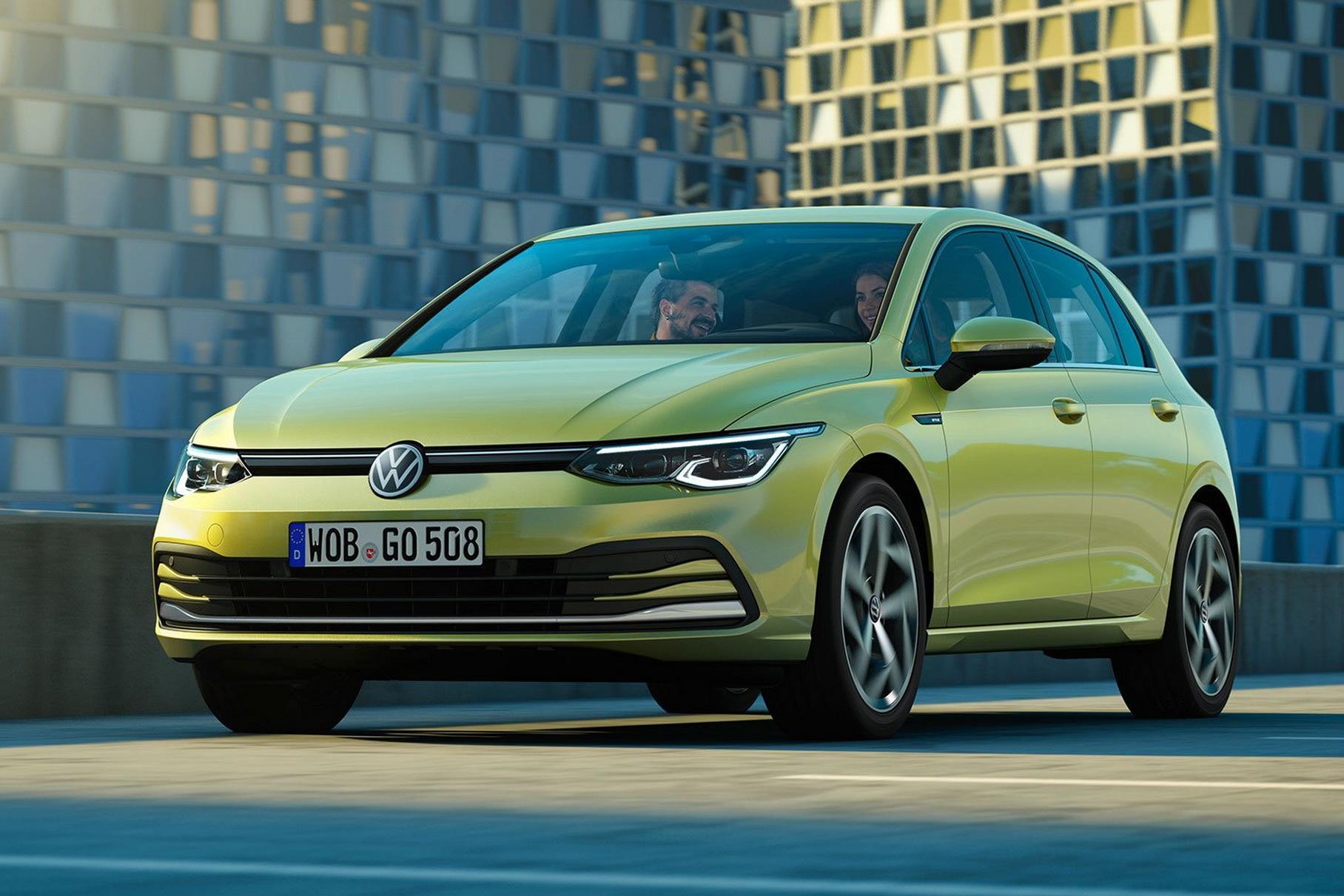 Восьмое поколение хэтчбека Volkswagen Golf