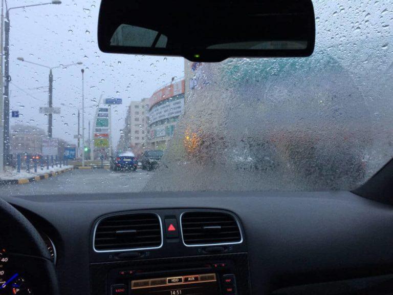 «Антидождь» для автомобиля своими руками