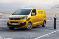Электрические версии Peugeot Expert, Citroen Jumpy и Opel Vivaro