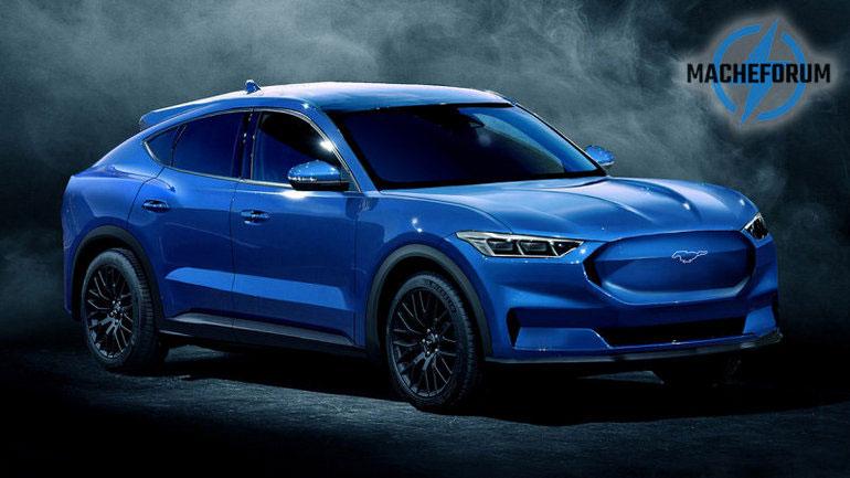 Электрический кроссовер Ford Mustang Mach E