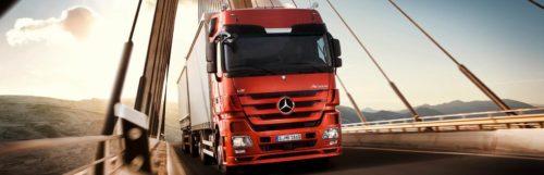 Интеллектуальные системы в грузовиках Mercedes-Benz