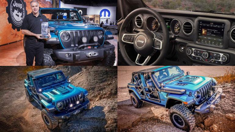 Jeep Wrangler лучший автомобиль года