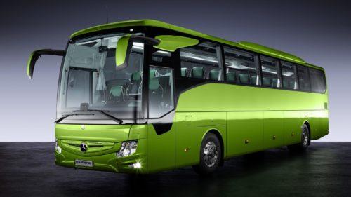 Комфорт в туристических автобусах Mercedes-Benz Tourismo
