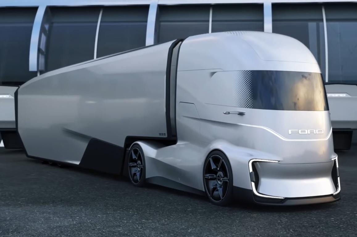 Концептуальный тягач F-Vision Future Truck