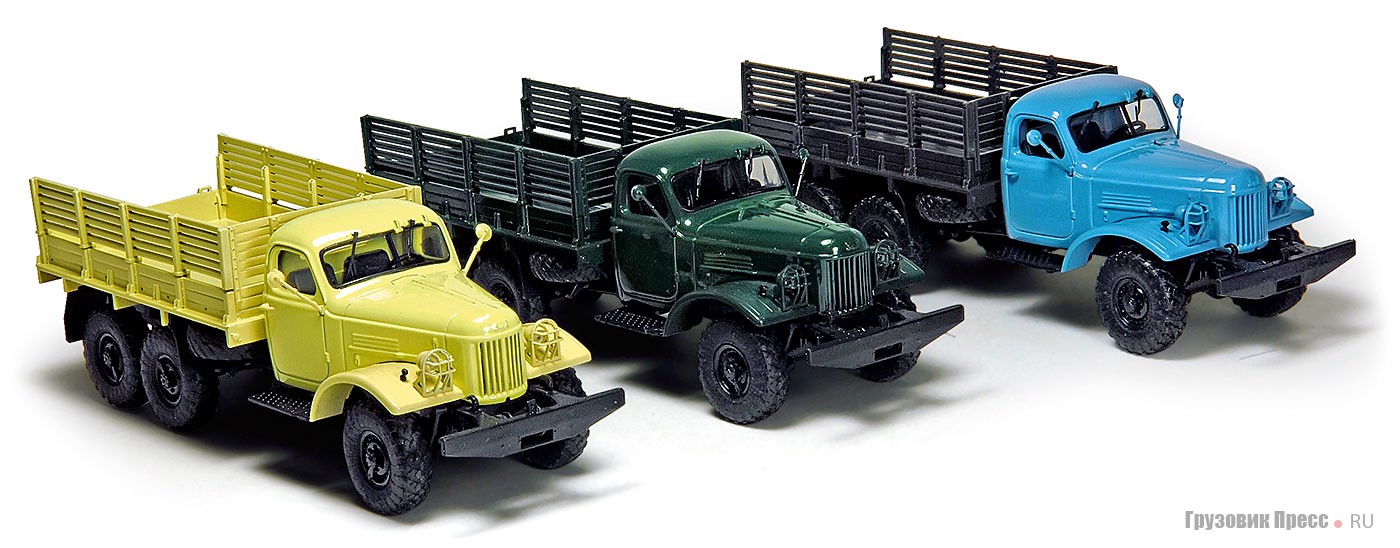 Масштабные модели отечественных грузовиков