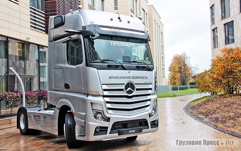 Новые технологии обновлённого Mercedes-Benz Actros