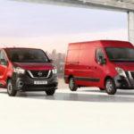 Обновление фургонов Nissan NV300 и NV400