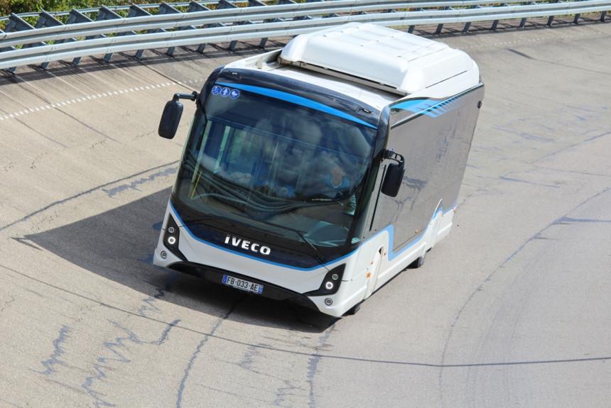 Полтысячи километров на одном заряде - электробус IVECO