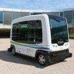 Пригородный автобус-беспилотник WePod
