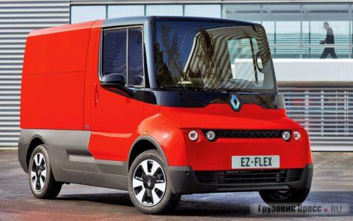 Развозной фургон Renault EZ-FLEX