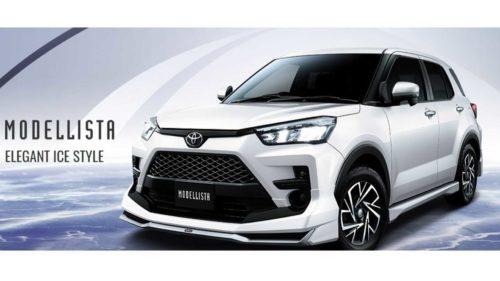 Toyota Raize получил две тюнинговых версии
