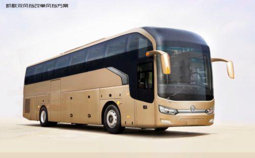 Туристический автобус Голден Драгон XML 6139 JR