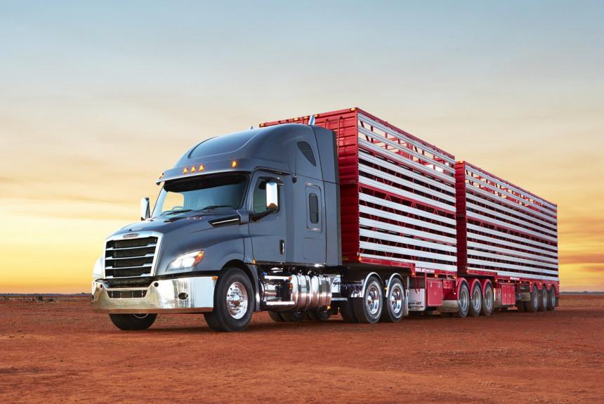 Тягач Freightliner Cascadia