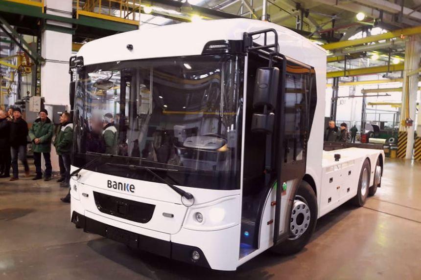 Украинский электрический грузовик Benke E RCV27 для европейцев