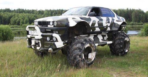 Вездеход-«монстр» BMW X7 4×4