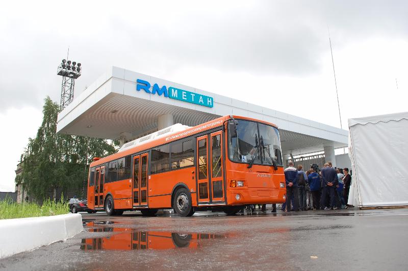Выбор автобусов по виду топлива