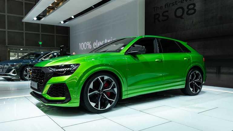 23-дюймовые колеса нового Audi RS Q8