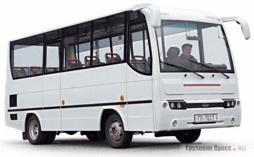 Автобус из Челябинского Троицка АМД-2229