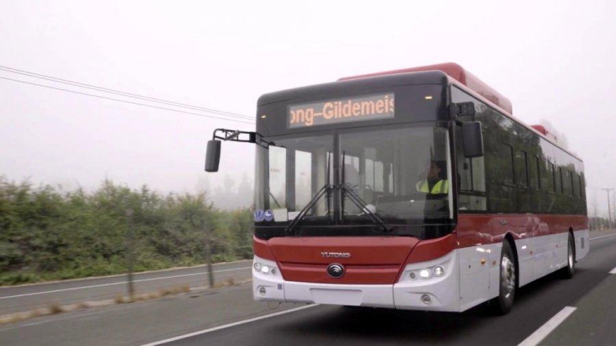 Автобусы Yutong E12