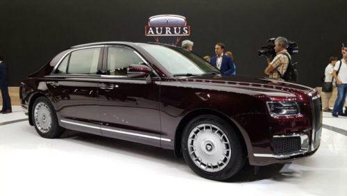 Бюджетная версия лимузина Aurus Senat