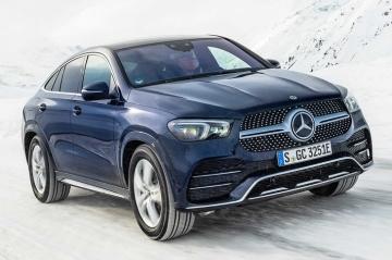 Экономичная гибридная версия Mercedes-Benz GLE Coupe