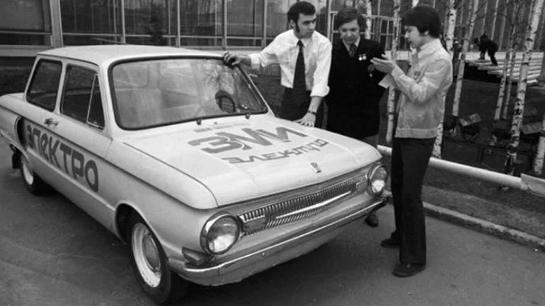 Электромобиль на основе «Запорожца» ЗАЗ-968