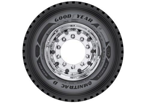 Грузовые шины Goodyear для бездорожья