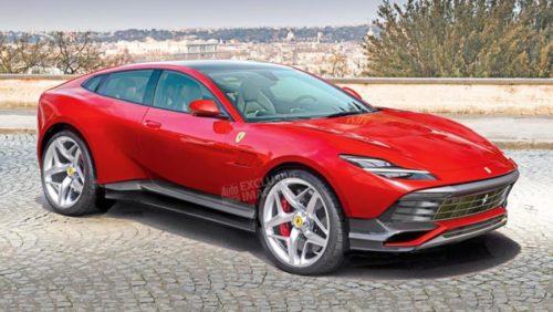 Как назовут первый внедорожник Ferrari