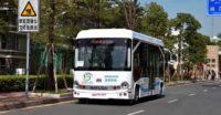 Китайские беспилотные автобусы Alphaba
