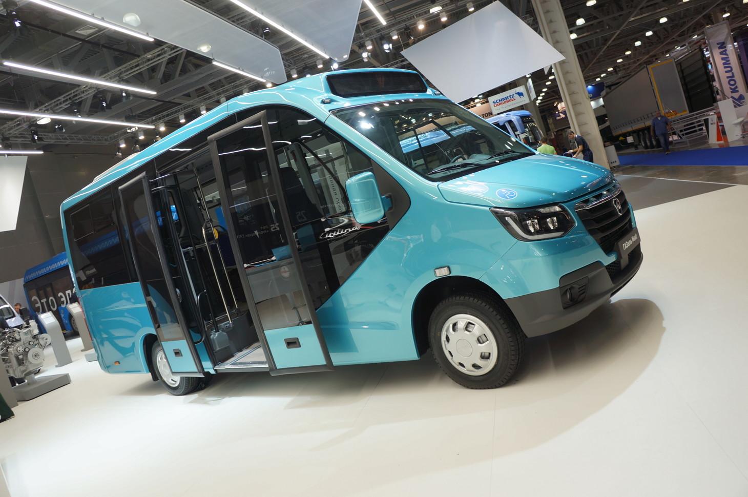 Микроавтобус «Газель City»