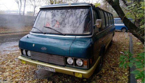 Микроавтобус представительского класса ЗИЛ-3207