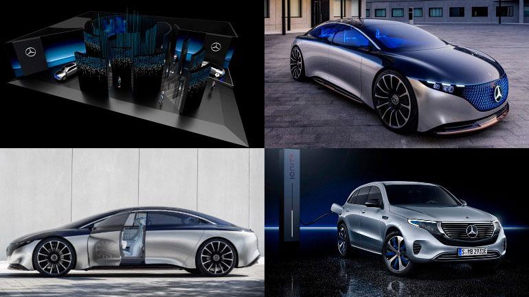 Новаторский концепт-кар Mercedes для выставки CES