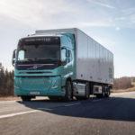 Новые электротягач и электросамосвал Volvo