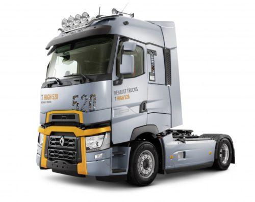 Новые магистральные и развозные грузовики Renault