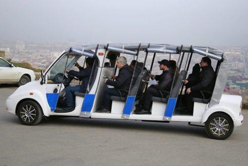 Новый российский электромобиль проходит тест