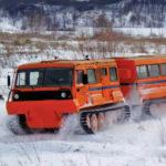 Российские вездеходы для перевозки грузов в Арктике