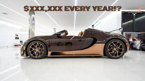 Сколько стоит содержание двух Bugatti