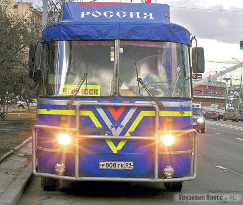 Тюнинг автобуса ЛАЗ-699Р «Турист»